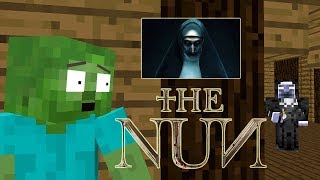 Download Monster School: THE NUN HORROR CHALLENGE- Minercatf Animation Video