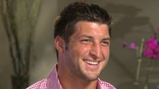 Download Tim Tebow Interview Exclusive on Girlfriends, Taylor Swift, His Foundation and the New York Jets Video