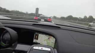Download 350 km/h (218 mph) 918 chasing Koenigsegg Agera R on German Autobahn Porsche vs Koenigsegg Video