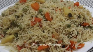 Download VEGETABLE PULAO Video