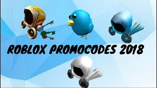 5 ROBLOX PromoCodes EPIC ITEMS Free Download Video MP4 3GP M4A