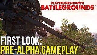 Download FIRST LOOK ~ PlayerUnknown's Battlegrounds Pre-Alpha Build Video