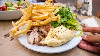 Download Greek Chicken Gyro Plate & Breathtaking Views of Athens, Greece! Video