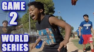 Download GABE'S FIRST HOME RUN! | On-Season Softball League | World Series Game 2 Video