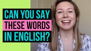 Download 73 WORDS YOU CAN'T PRONOUNCE in American English... & how to say them correctly! Video
