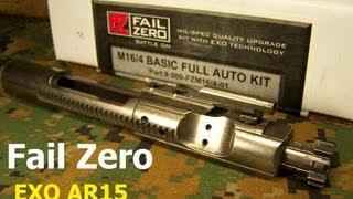 Download FAIL ZERO EXO AR15 / M4 Bolt Carrier Group Video