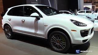 Download 2017 Porsche Cayenne S E Hybrid Platinum Edition-Exterior Interior Walkaround-2017 Chicago Auto Show Video