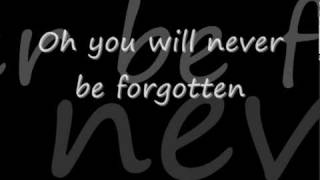 Download jessica Andrews - you will never be forgotten lyrics.avi Video