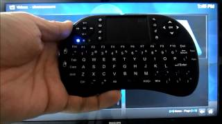 Download Review: i8 Wireless Keyboard - The Almost Perfect Kodi/XBMC Keyboard Video