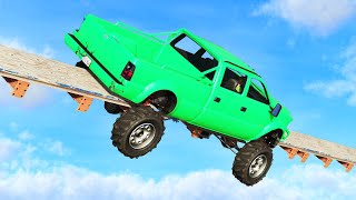 Download IMPOSSIBLE TRUCK TIGHTROPE! (GTA 5 Funny Moments) Video