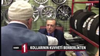 Download CUMHURBAŞKANI ERDOĞAN'IN KOLUNU SIKAN BERBER İHSAN Video