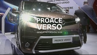 Download Proace introduction video - 86th Geneva International Motor Show - Video