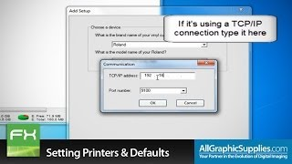 Download Setting Up Printers & Factory Defaults in FlexiSIGN - All Graphic Supplies Video