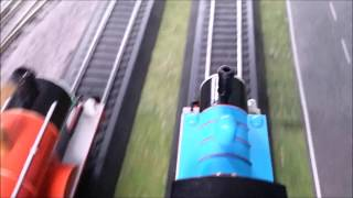 Download Thomas & James are Racing   H0 Remake Video