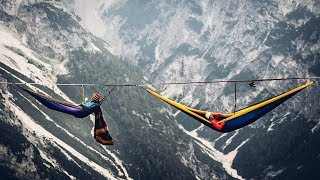 Download Breathtaking! The Most Dangerous Hammock in the World Video