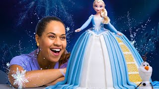 Download I made an ELSA CAKE for Disney Frozen 2! | How To Cake It With Yolanda Gampp Video