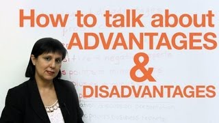 Download Speaking English - Discussing Advantages & Disadvantages Video