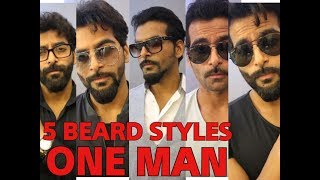 Download 5 BEARD STYLES ON ONE FACE Video