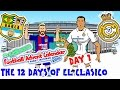 Download El Clasico - 12 Days of Xmas! BARCELONA vs REAL MADRID 1-1 2016 (Day 1 Football Advent Calendar) Video
