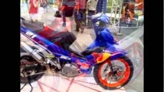 Download Modifikasi Motor shogun sp Video