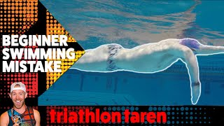Download 3 Ways you can fix the BIGGEST SWIMMING MISTAKE beginner triathletes make as told BY A PRO Video