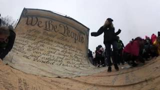 Download 360 video: Women's March on Washington Video