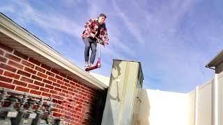 Download SCOOTER OFF THE ROOF!! Video
