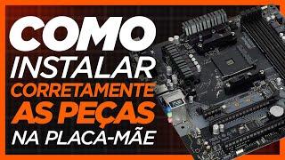 Download COMO MONTAR CORRETAMENTE A PLACA-MÃE! Video