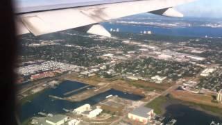 Download British Airways flight Boeing 777 into Tampa Florida Video