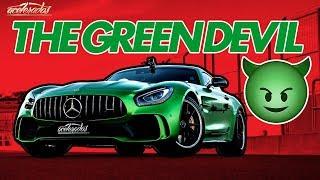 Download INFERNO VERDE! O MONSTRUOSO MERCEDES-AMG GT R VIRA UM TEMPORAL NA PISTA! - VR C/ RUBINHO #141 Video