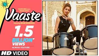 Download Vaaste Song: Dhvani Bhanushali, Tanishk Bagchi | Nikhil D | Bhushan Kumar | Radhika Rao, Vinay Sapru Video