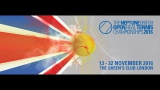 Download 23. Bryn Sayers GB (Queen's) (4) vs Ben Taylor-Matthews GB (Leamington) (6) Singles QF 3 Video