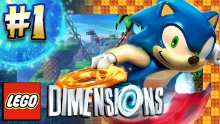 Download Lego Dimensions PS4 Pro - Sonic Level Pack Part 1: Green Hill Zone (4K 60FPS) Video