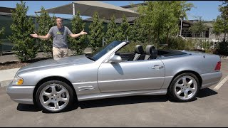 Download The 2002 Mercedes-Benz SL500 Is the Last Old-School Mercedes Video