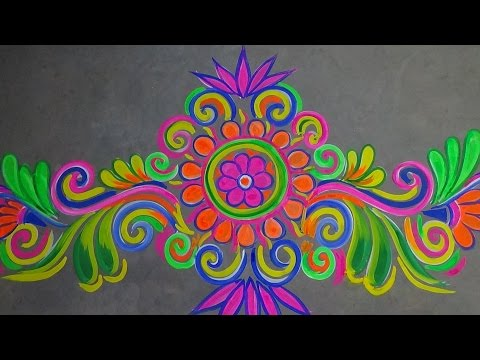 Alpana / Rangoli borders designs collection for Doors