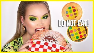 Download HAMBURGER Eyeshadow Palette?? WTF!! | NikkieTutorials Video