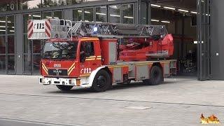 Download NEUE FEUERWACHE 4 - SCHWABING der Feuerwehr München - [Erste Einsatzfahrten] Video