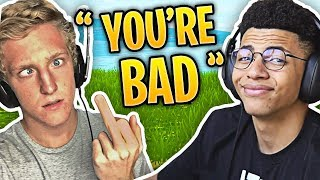 Download When Fortnite Streamers Trash Talk Each Other Video