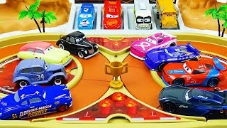 Download Cars 3 Toys Crazy 8 Demolition Derby Tournament vol 31 Next Generation & Old Racer Video