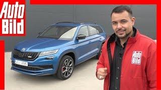 Download Skoda Kodiaq RS (Paris 2018) Sitzprobe / Details / Review Video