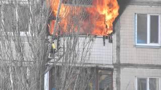 Download Пожар, Киев (24.02.2015) Video