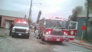 Download Station 18 first in warehouse fire Video
