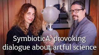 Download SymbioticA provoking dialogue about artful science Video
