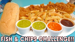 Download DELICIOUS FISH N CHIPS CHALLENGE!! (WIN #400) Video