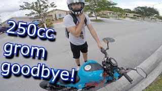 Download CONVINCING A GUY TO LET ME STEAL HIS 250CC GROM Video