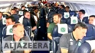 Download Members of Brazil's Chapecoense on crashed plane Video