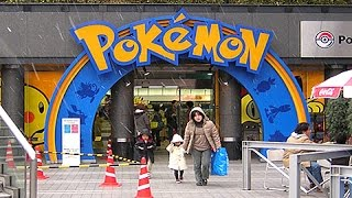 Download The REAL LIFE Pokemon Center in Japan!! Video