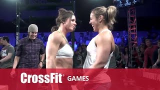 Download CrossFit Open 14.3 STACIE TOVAR vs ALESSANDRA PICHELLI Video