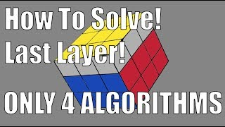 Download How to Solve a 3x3x3 Rubik's Cube: Easiest Tutorial (Last Layer) (4 Algorithms) Video