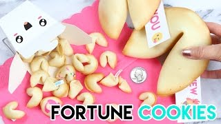 Download How to Make Mini Fortune Cookies! Video